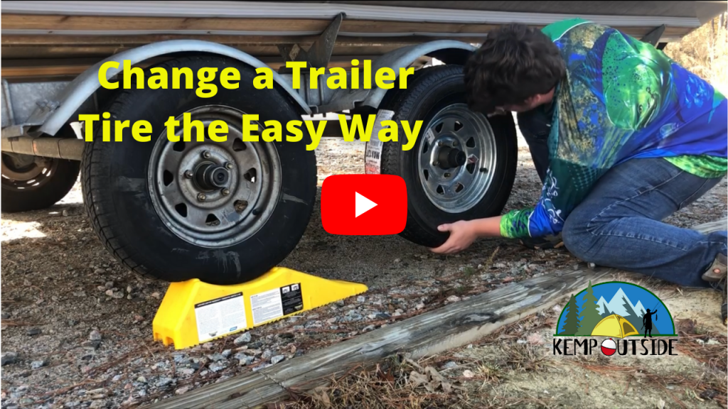 Change a Trailer Tire the Easy Way