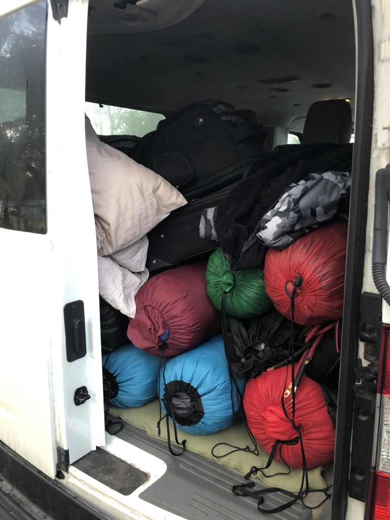 Packed full of gear
