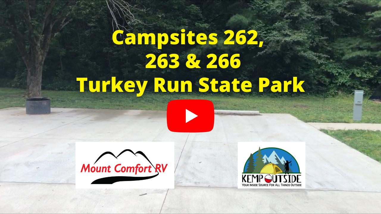 Campsites 262, 263 & 266