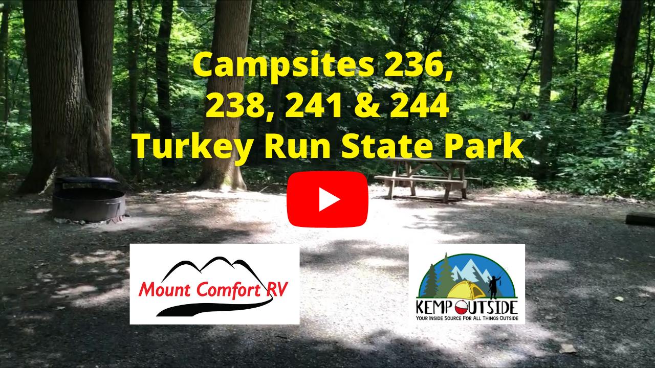 Campsites 236, 238, 241 & 244