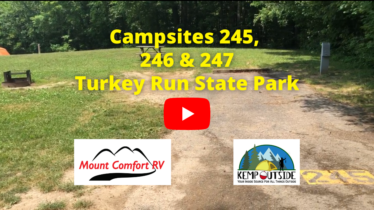 Campsites 245, 246 & 247