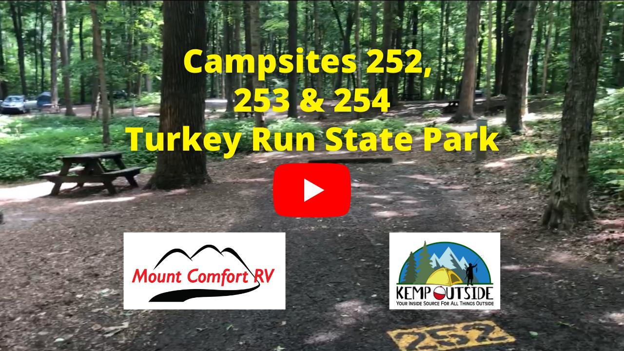Campsites 252, 253 & 254