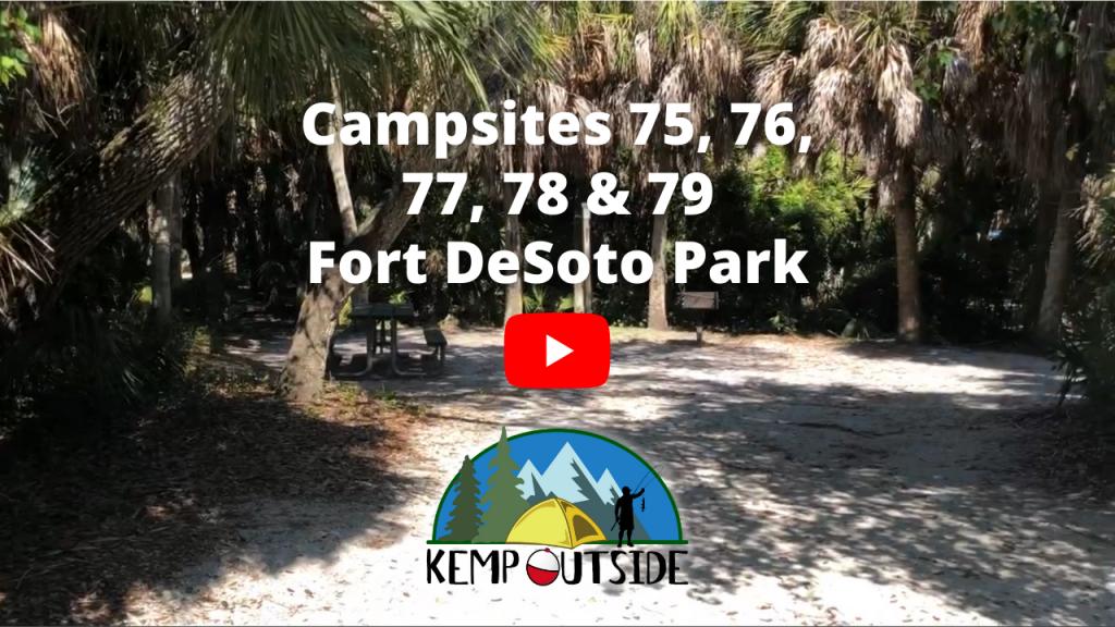 Campsites 75, 76, 77, 78 & 79
