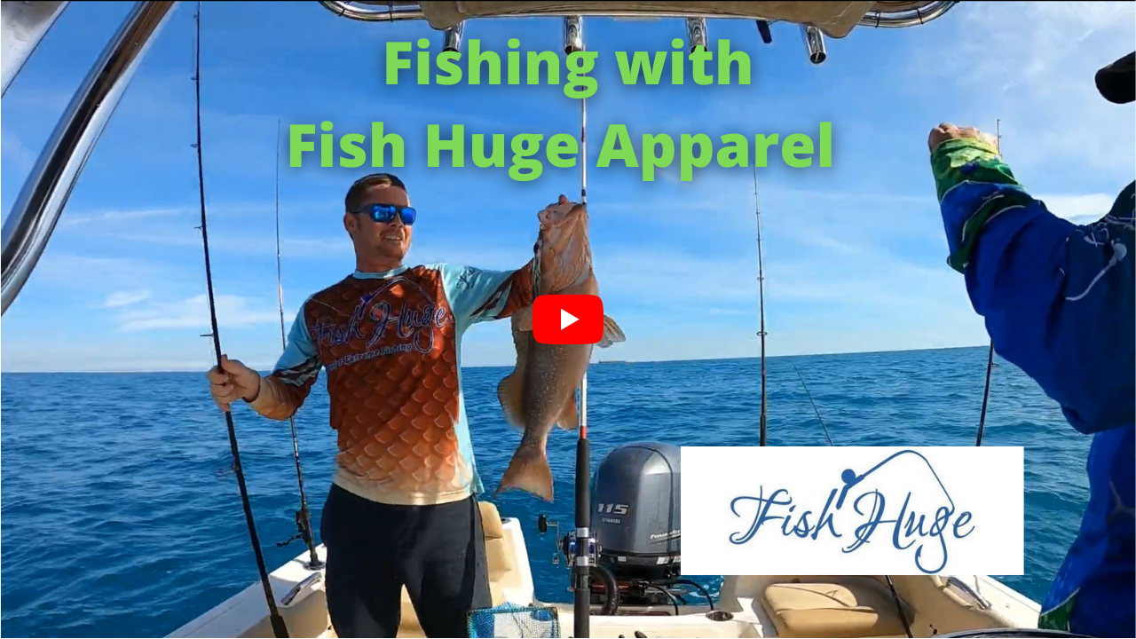 Fishing with Fish Huge Apparel
