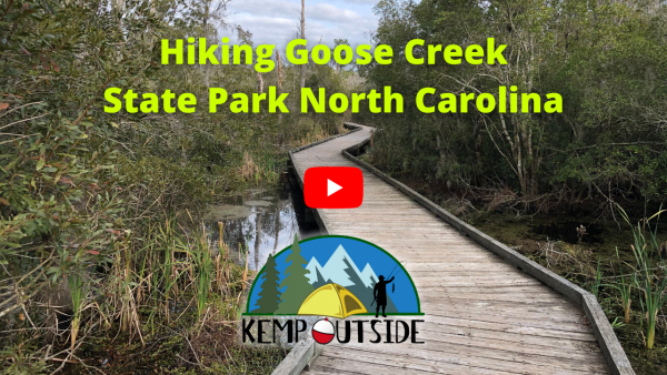 Hiking Goose Creek State Park