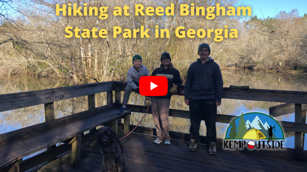 Hiking at Reed Bingham State Park in Georgia