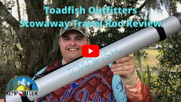 Toadfish Travel Rod Review