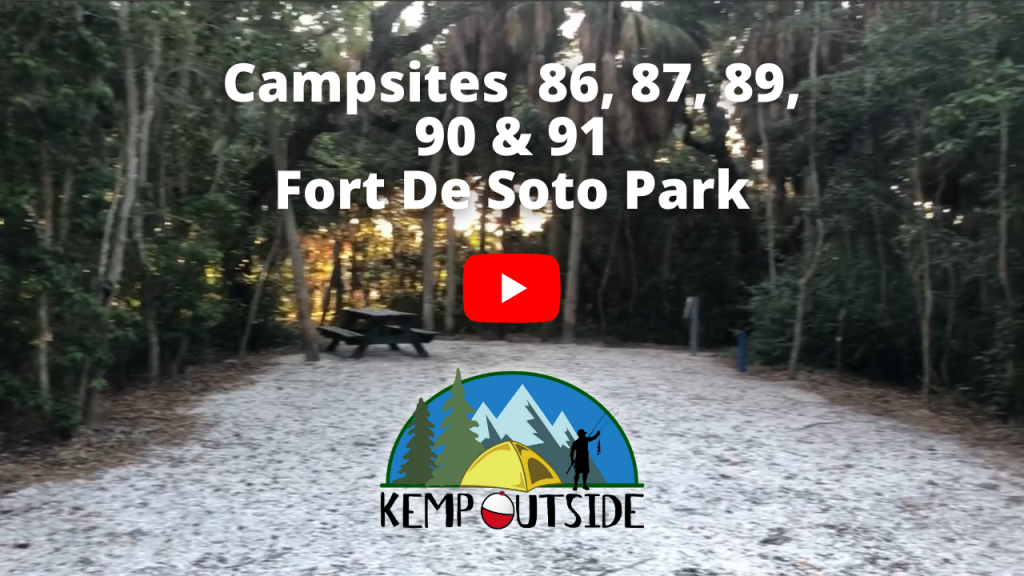 Fort De Soto Campsites 86, 87, 89, 90 & 91