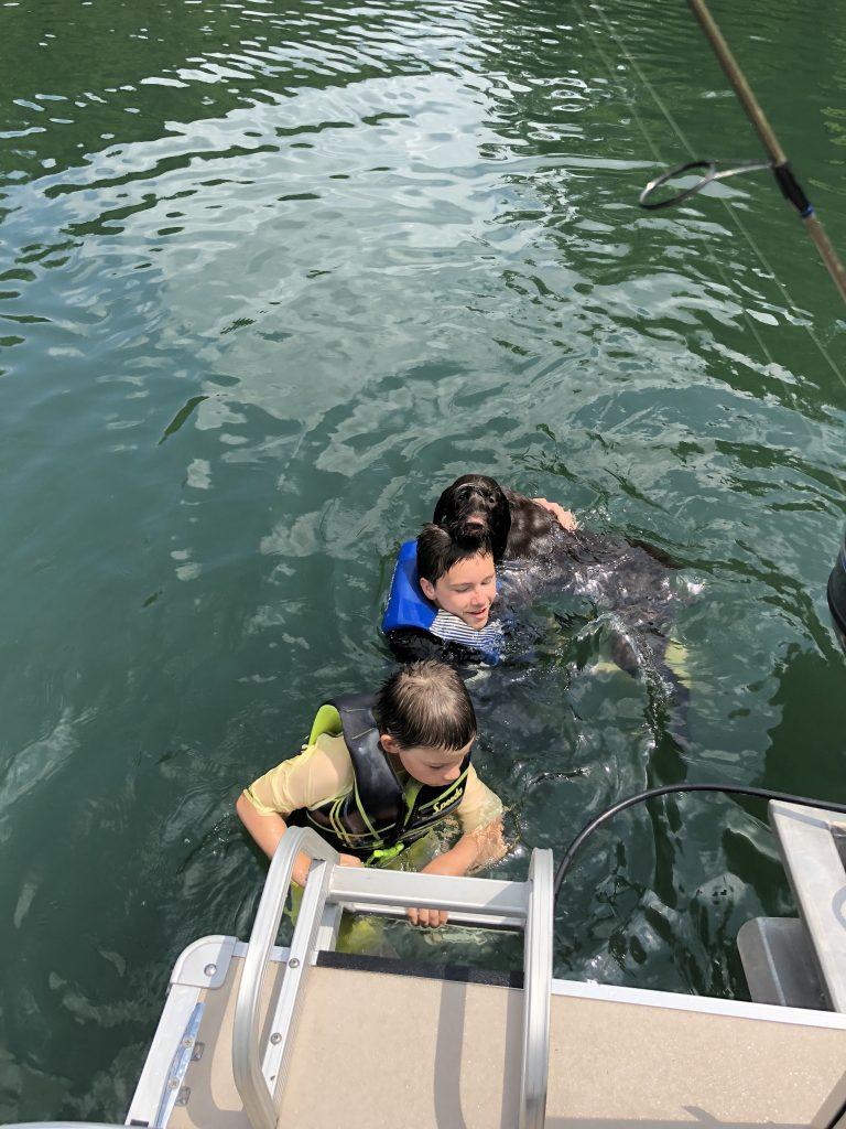 Ellie at Lake Cumberland