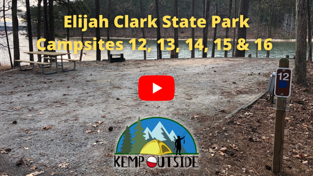 Elijah Clark State Park Campsites 12, 13, 14, 15 & 16