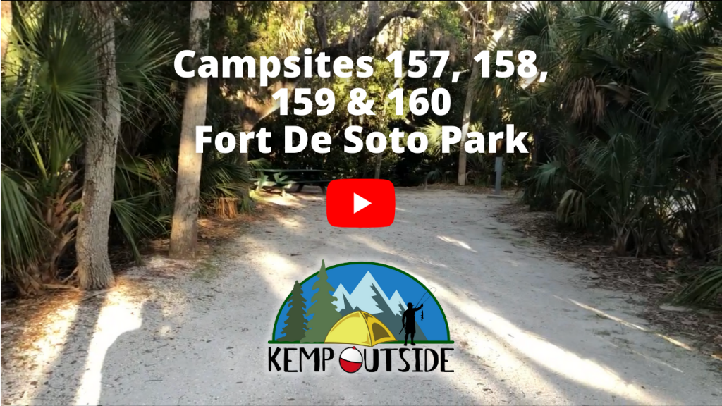 Fort De Soto Campsites 157, 158, 159 & 160
