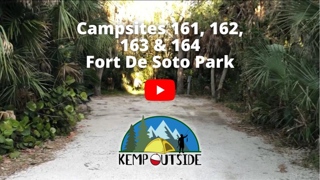 Fort De Soto Campsites 161, 162, 163 & 164