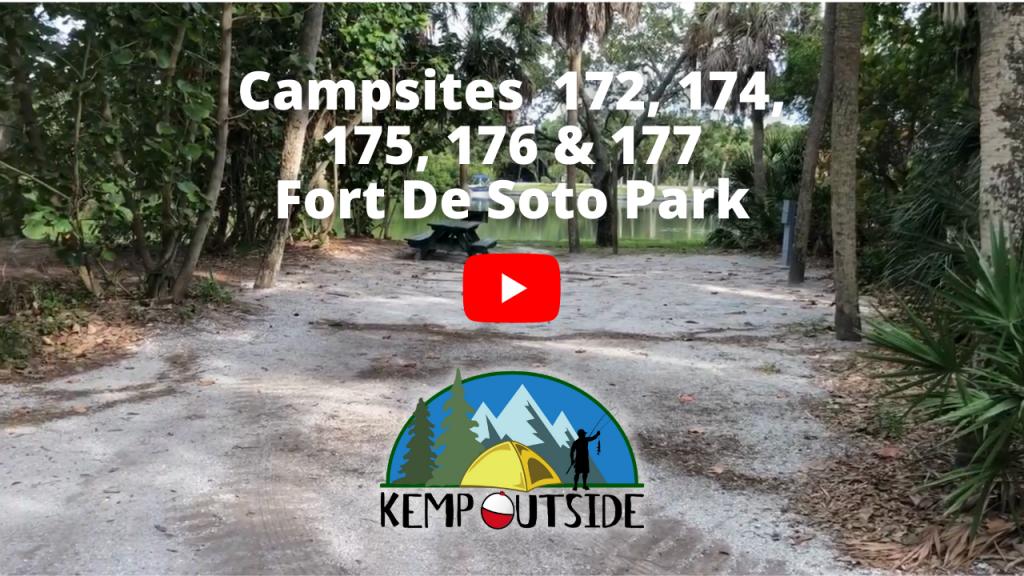 Fort De Soto Campsites 172, 174, 175, 176 & 177