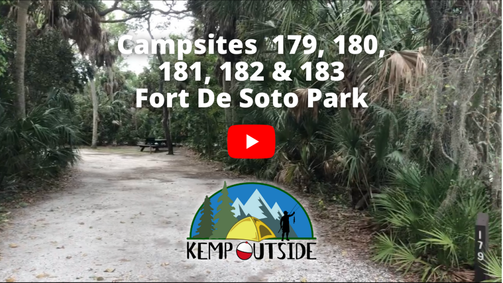 Fort De Soto Campsites 179, 180, 181, 182 & 183