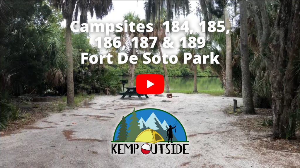 Fort De Soto Campsites 184, 185, 186, 187 & 189