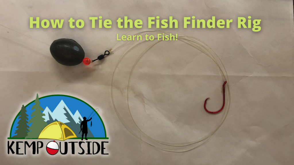 How to Tie the Fish Finder Rig